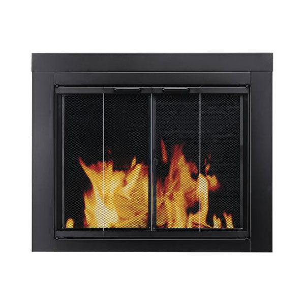 Pleasant Hearth Glass Doors- Bi-Fold Style