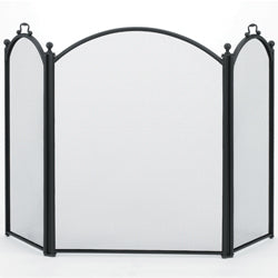 Woodfield 3 Panel Arched Screen