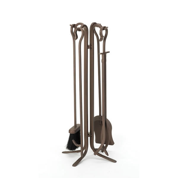 Woodfield Bronze 4-Piece Tool Set With Crook Handles