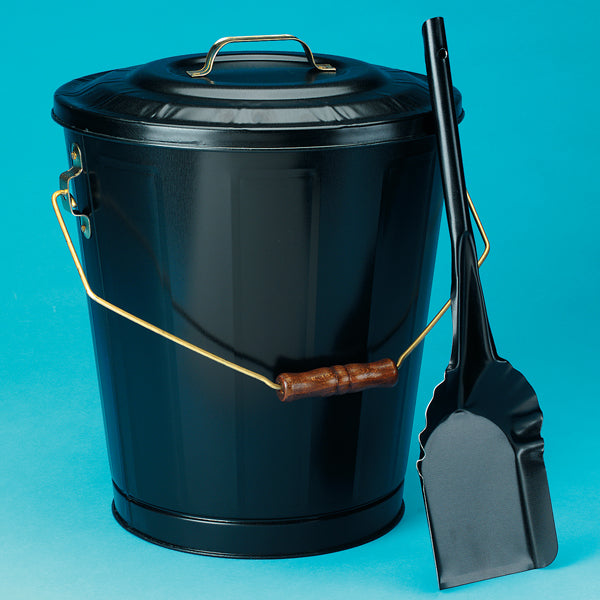 Black Ash Container & Shovel Set