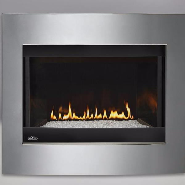 Crystallo Direct Vent Gas Fireplace Napoleon Fireplaces Hearth