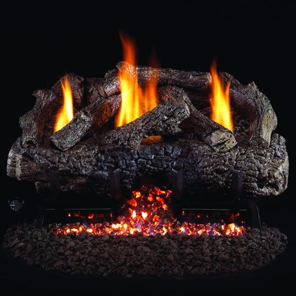 Ventis Gas Log Set- Adirondack Series-Vent Free-Ventis-Hearth Stove & Patio