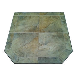 "Desert Tile Stove Board 48"" x 48"" Double Cut"