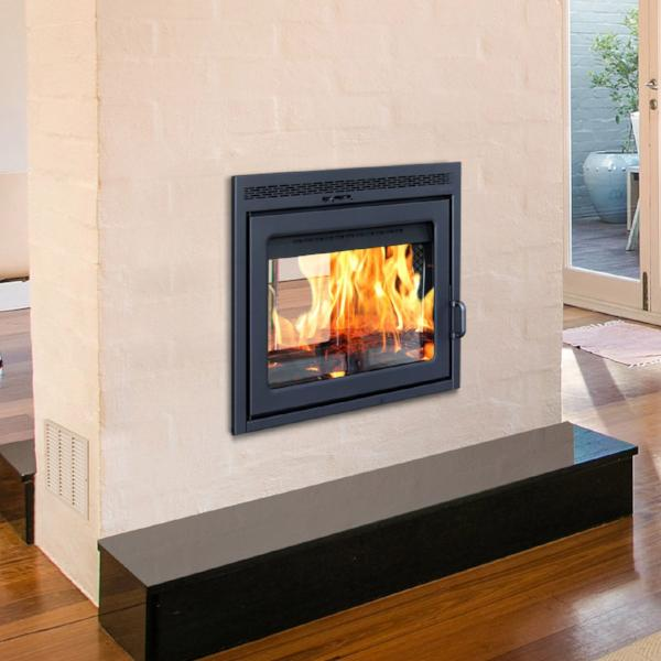 Supreme Duet See Through Wood Burning Fireplace