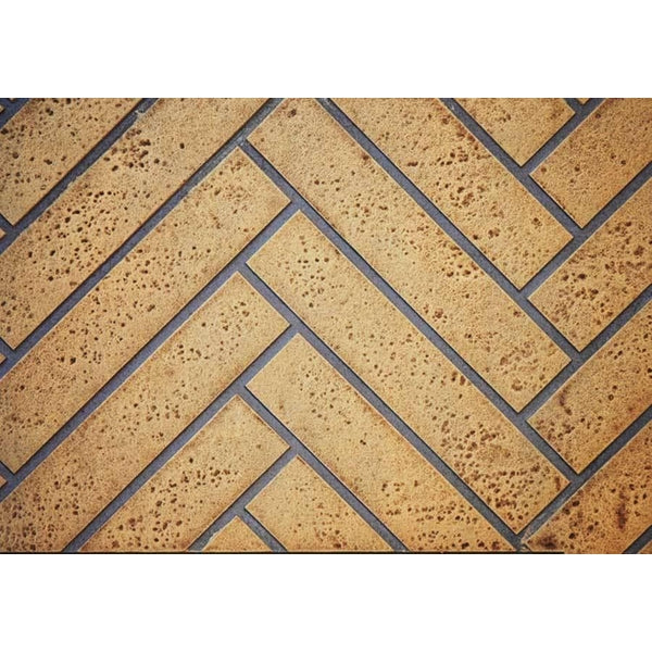 Park Avenue Sandstone Herringbone Decorative Brick Panels