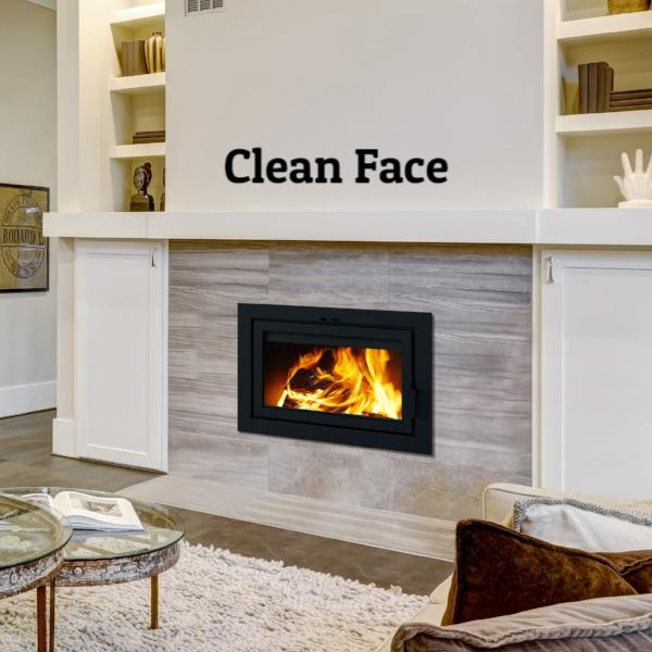 "Supreme ""Astra 24"" Zero Clearance Fireplace"