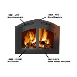 Napoleon NZ 6000 Wood Burning Fireplace