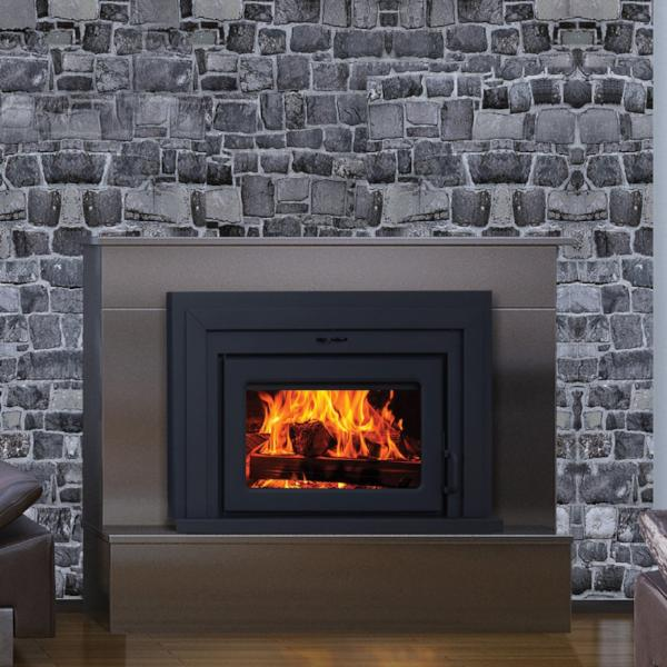 "Supreme ""Fusion 18"" Wood Burning Fireplace Insert"