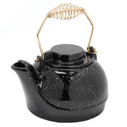 Black Porcelain Kettle