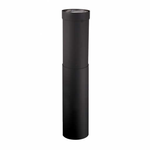 Ventis Double Wall Black Telescoping Pipe