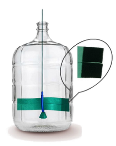 Clean Bottle Express® Carboy Scrubber