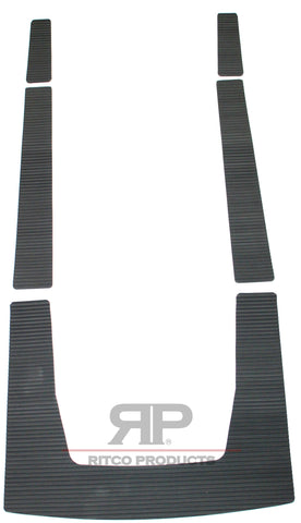 POLARIS TRACTION MATS FOR SL 650 / SL 750 / SL 900 / SL 900 / SL 1050 / SLX 780 / SLX PRO 785  1992 1993 1994 1995 1996 1997 1998 1999