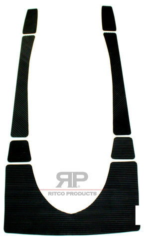 SEA-DOO TRACTION MATS FOR RXP / RXP X / RXP 155 2006 2007 2008 2009