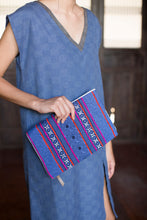 Load image into Gallery viewer, Indigo Blue Clutch