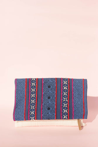 Indigo Blue Clutch