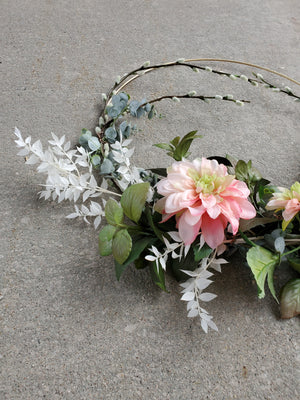 Spring Hoop Wreath
