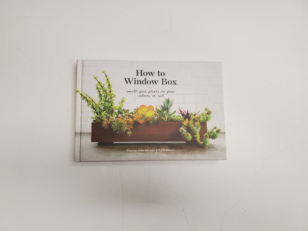 Window box book