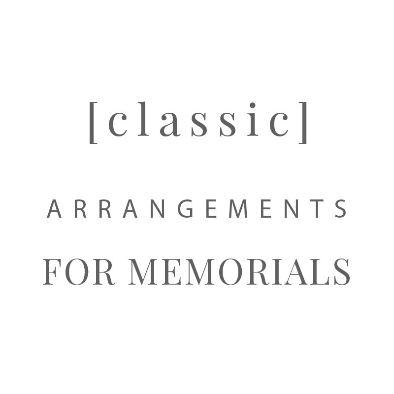 [ Classic ] memorial arrangements