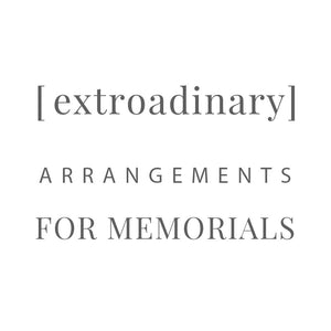 [ extroadinary ] memorial arrangements