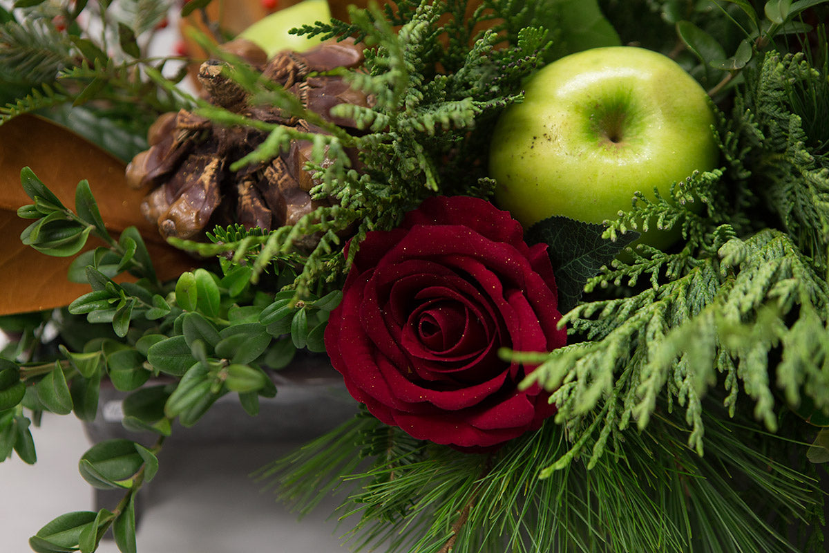 Fruitful and Festive Centrepiece