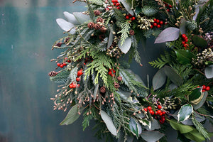 Winter wreath or table centrepiece Nov 28th 7-9