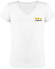 Level Up! - t-shirt en coton bio femme col V