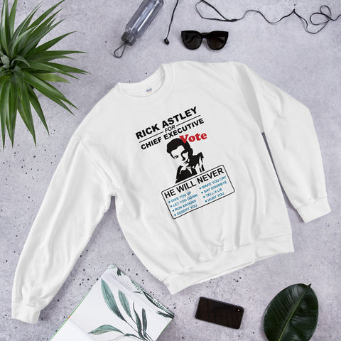 RICK ASTLEY BEST EVER SWEATER (UNISEX)