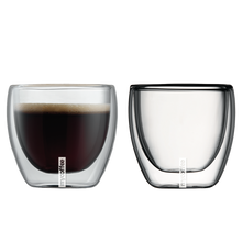 3.4 fl.oz./100ml  Double Wall Cappuccino Glasses