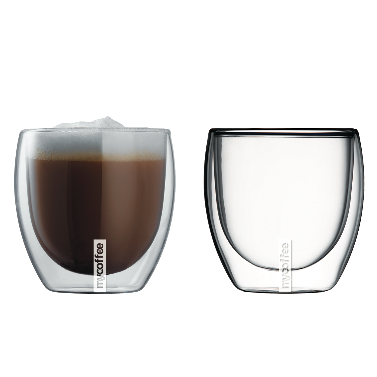 8.5 fl.oz./250ml  Double Wall Cappuccino Glasses