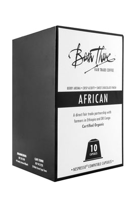 African Blend Coffee Capsules Nespresso™ Compatible
