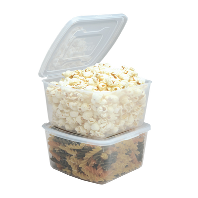 myeverlid 2 x Large Containers - 4 cup / 32oz / 1000ml