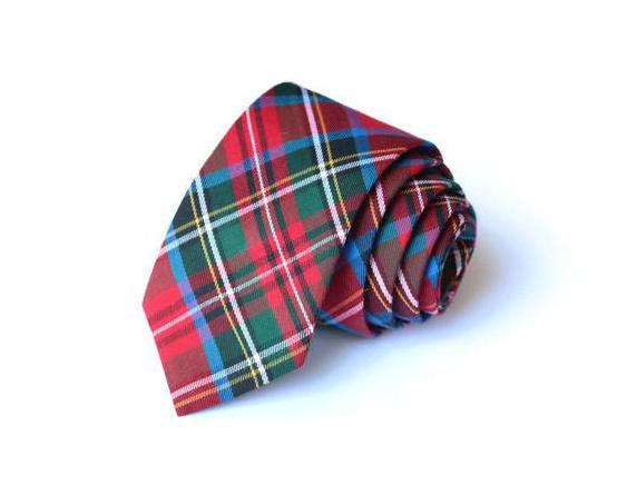 Carolina Tartan Plaid Necktie