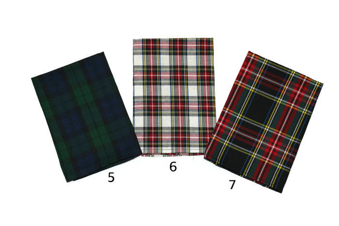 Tartan Plaid Pocket Square (Mens)
