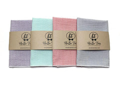 Seersucker Pocket Square (Mens)