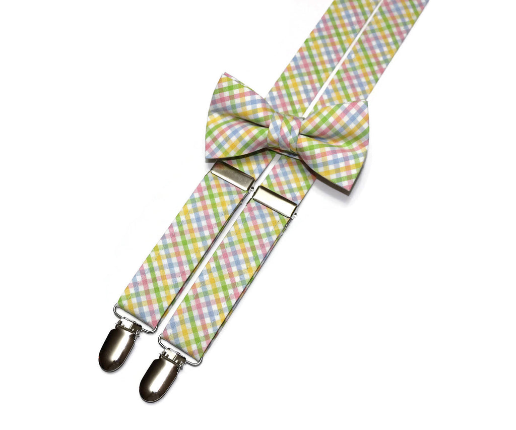 69c8d67840cf Boys Easter Tattersall Suspenders – HoBo Ties