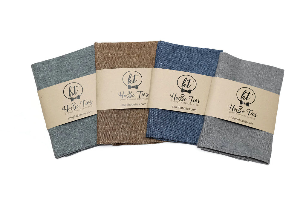 Linen Pocket Square (Boys)
