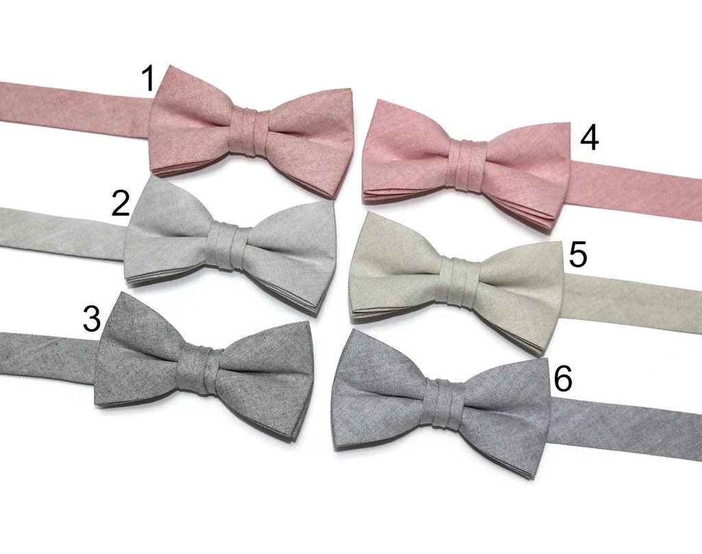 Chambray Bow Tie - Boys