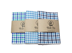 Seersucker Plaid Pocket Square (Mens)