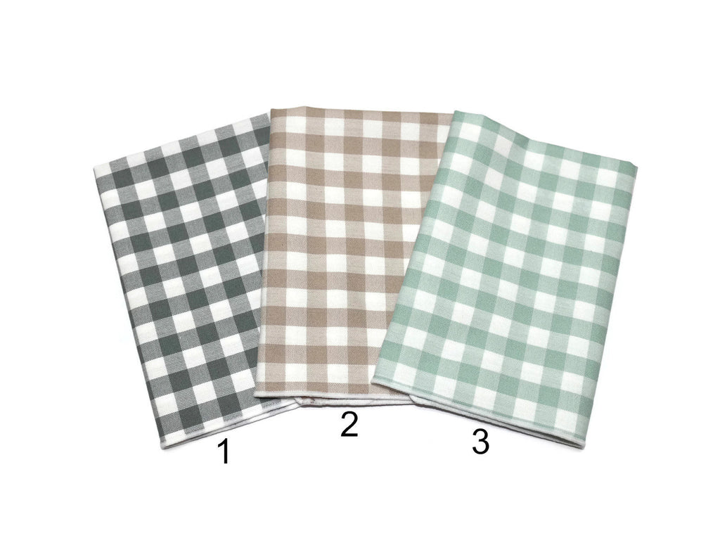 Gingham Check Pocket Square (Mens)
