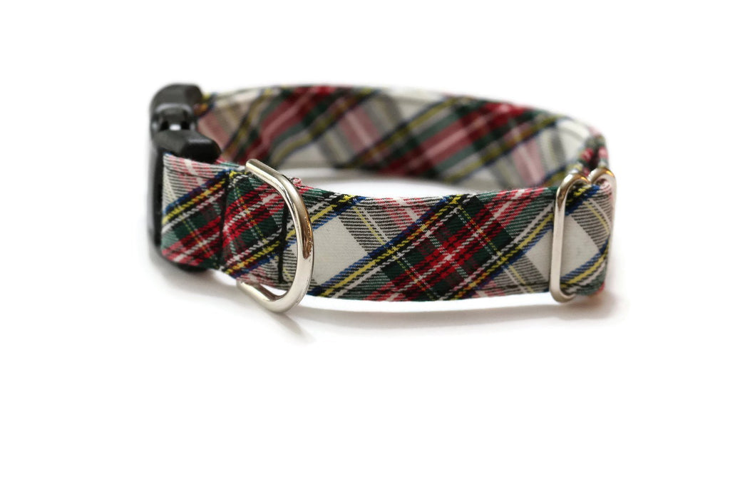 Dress Stewart Tartan Plaid Dog Collar