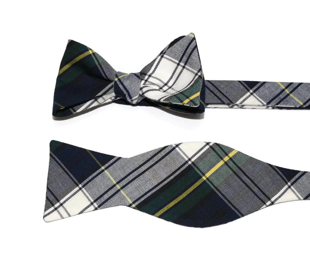 Gordon Tartan Plaid Cummerbund & Bow Tie