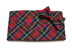Carolina Tartan Plaid Cummerbund & Bow Tie