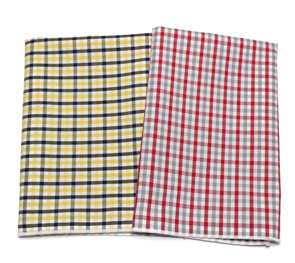 Tattersall Check Pocket Square (Mens)