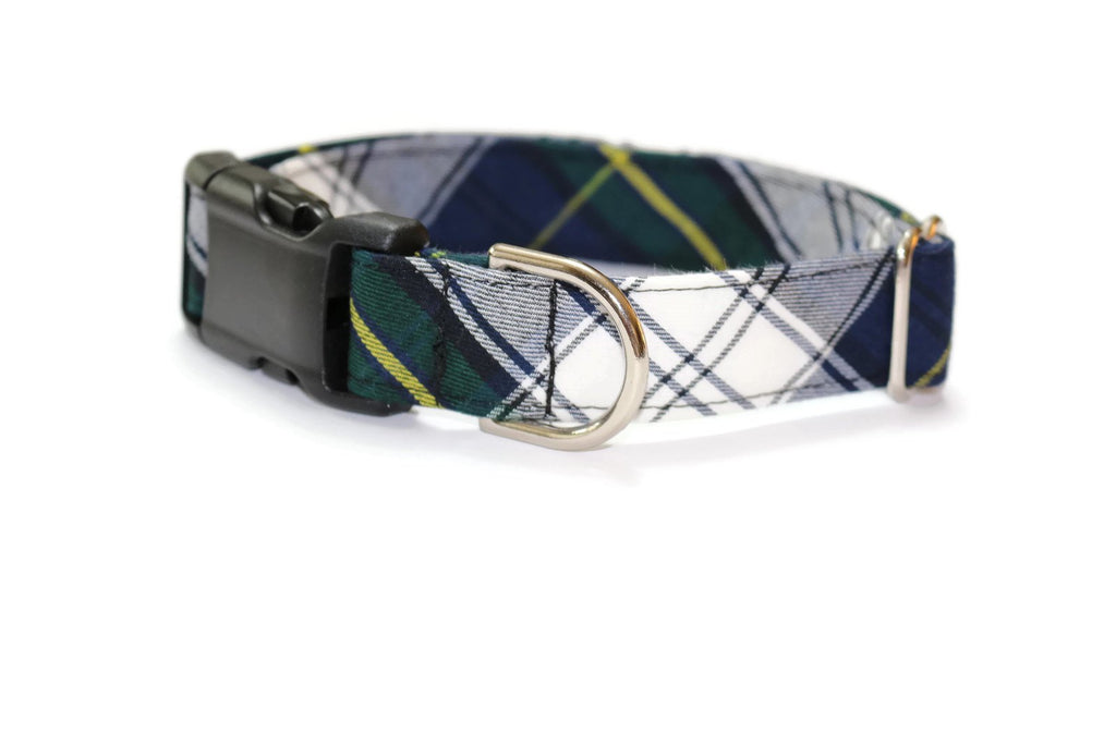 Gordon Tartan Plaid Dog Collar