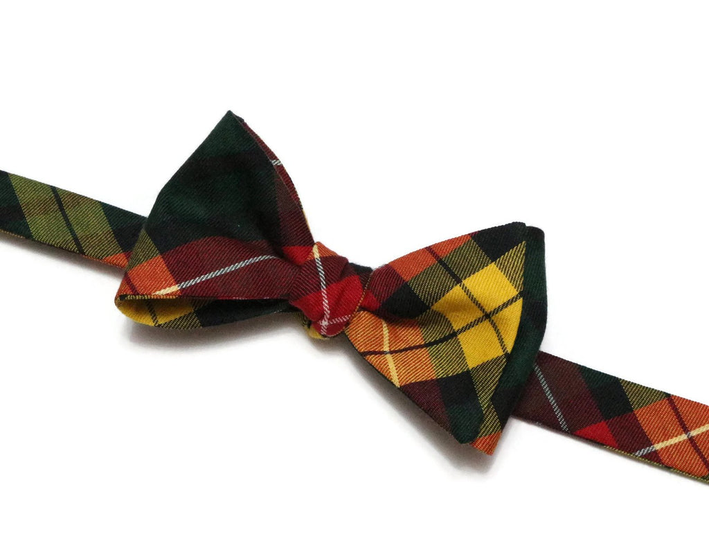 Buchanan Tartan Plaid Bow Tie
