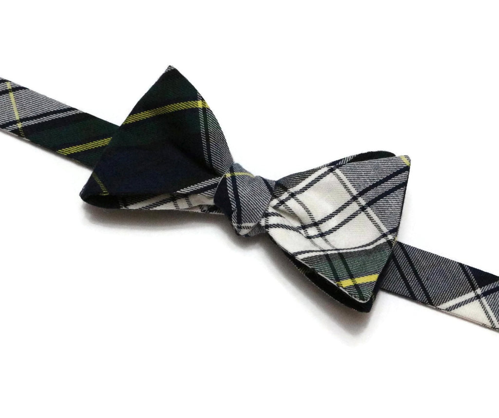 Gordon Tartan Plaid Bow Tie