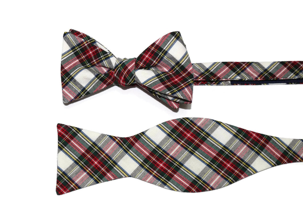 Stewart Dress Tartan Plaid Cummerbund & Bow Tie
