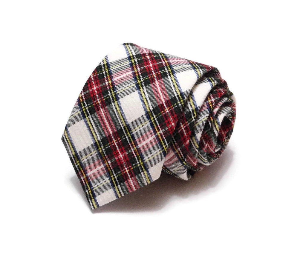 Stewart Dress Tartan Plaid Necktie
