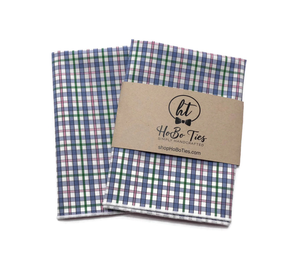 Easter Plaid Pocket Square (Mens)