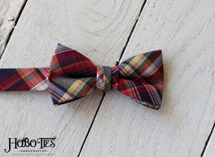 Plaid Bow Tie - Boys
